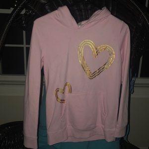 NWOT XL Cat & Jack pink hoodie.  Never worn!